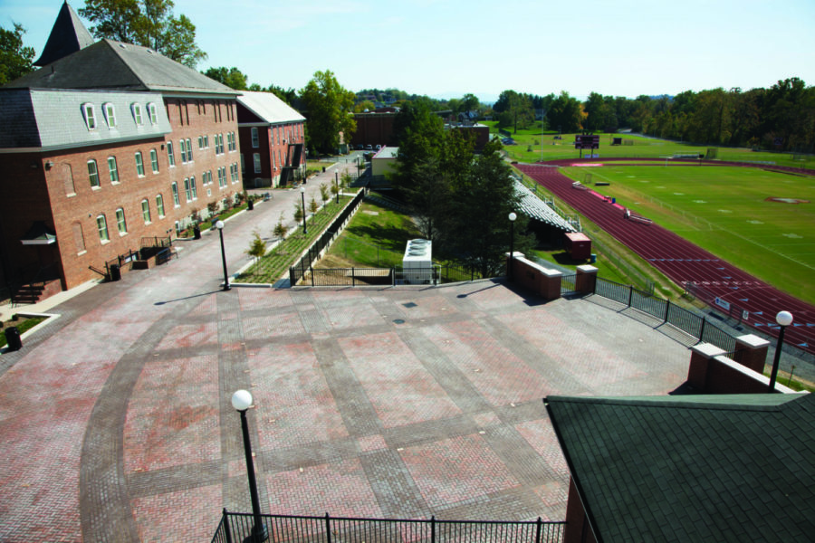 Bridgewater College Athletic Promenade Photo