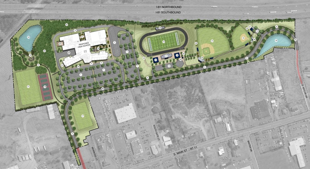 Harrisonburg High School plans