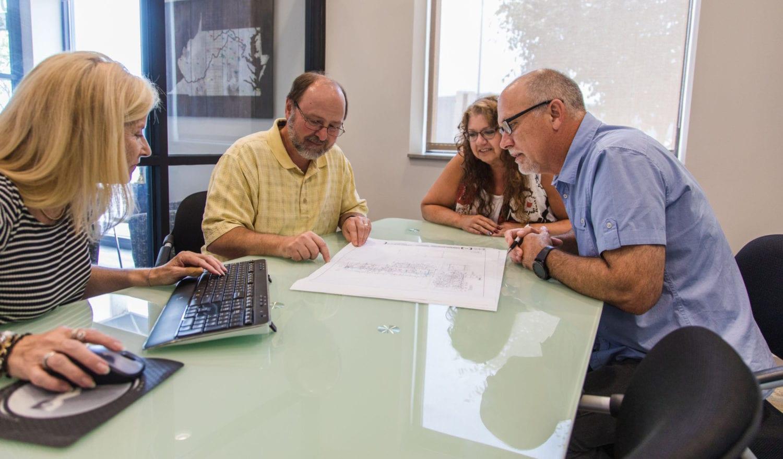 Team making decisions